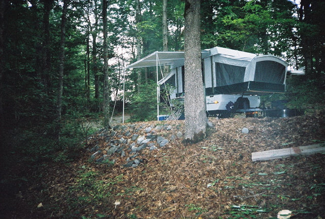 rv sites mountain campground Brevard NC