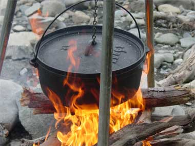 dutch oven for camping meals